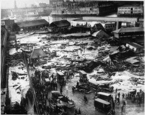 Great Molasses Flood, Boston, 1909