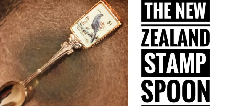 Day 17 – The New Zealand Stamp Spoon