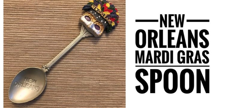 Day 58 – The New Orleans Mardi Gras Spoon