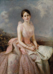 Painting of Juliette Gordon Low by Edward Hughes (1877)
