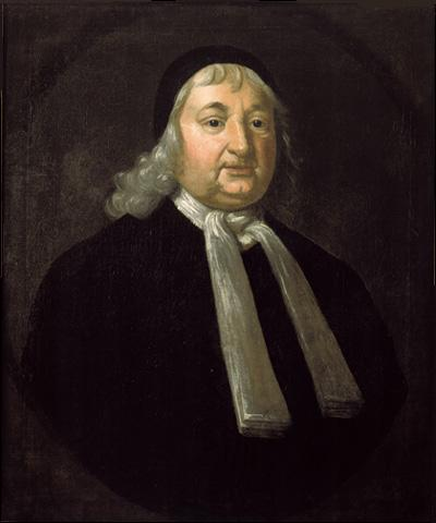 A painting of Massachusetts colonial magistrate, Samuel Sewall.
