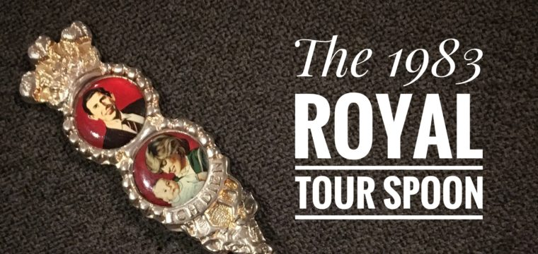 Day 82 – The 1983 Royal Tour Spoon