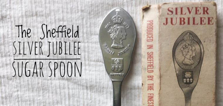 Day 156 – The Queen Elizabeth II Silver Jubilee Sugar Spoon
