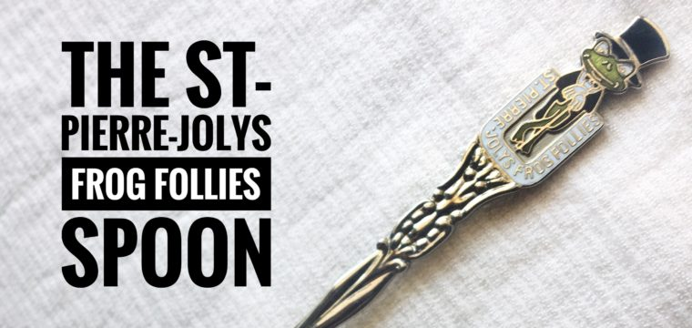 Day 195 – The St-Pierre-Jolys Frog Follies Spoon